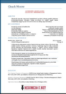 Functional Resume Examples 2017  Resume Formats In Word