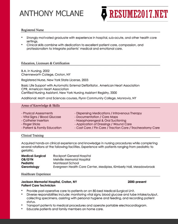 choosing a resume format 2017 useful tips