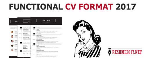 Functional resume format 2017