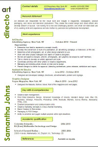 resume examples 2017