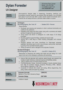latest resume templates 2017