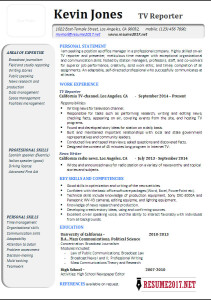 Latest resume 2017 sample