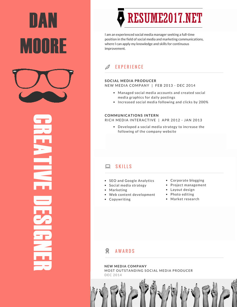 20 resume templates 2017 to win